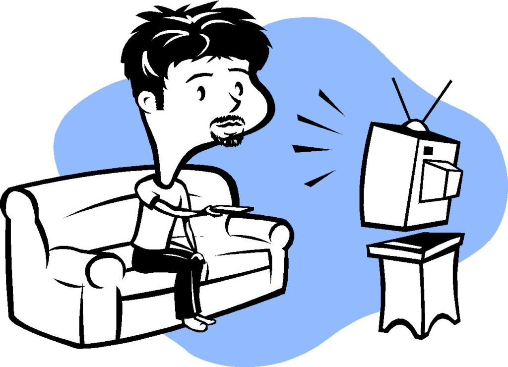 clipart boy watching tv - photo #46
